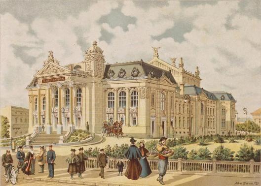 1896 teatrul national opera vasile alecsandri Iasi Theatre Romania culture romanian people