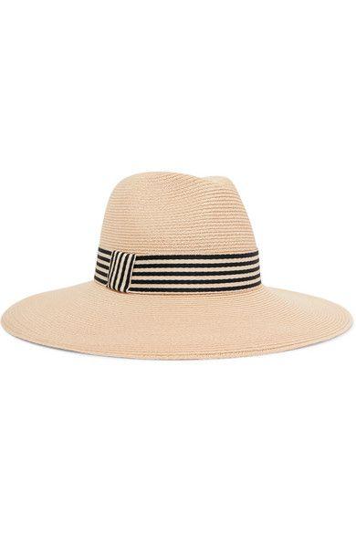555f85a0 Eugenia Kim | Ammanuelle cotton-trimmed hemp sunhat | NET-A-PORTER.COM |  Hats in 2019 | Hats, Sun hats, Eugenia kim