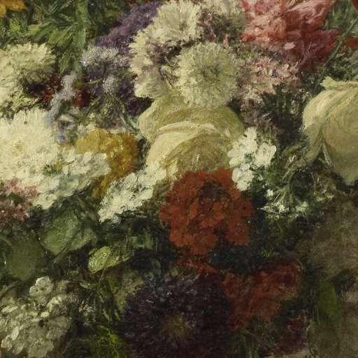 Bloemen uit Normandië, Henri Fantin-Latour, 1887 - Stilleven-Verzameld werk van Marjolein Moonen - Alle Rijksstudio's - Rijksstudio - Rijksmuseum