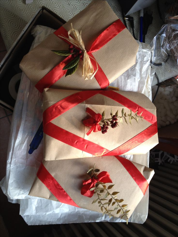 Wrapping ideas! My creation. Giulia Treviso