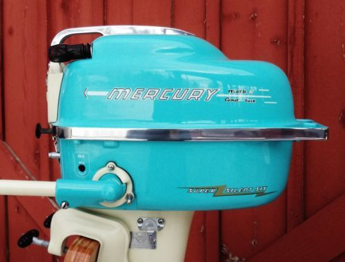 Vintage Antique 1956 Mercury Outboard Boat Motor | eBay. well done