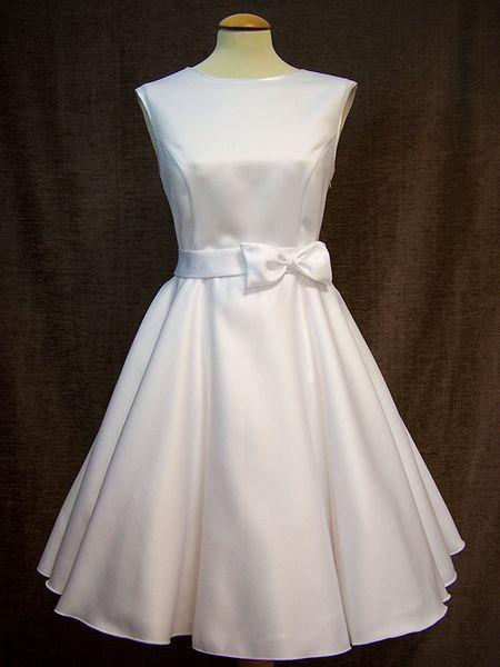 Petticoatkleid 50-er Brautkleid  von charme-mode auf DaWanda.com