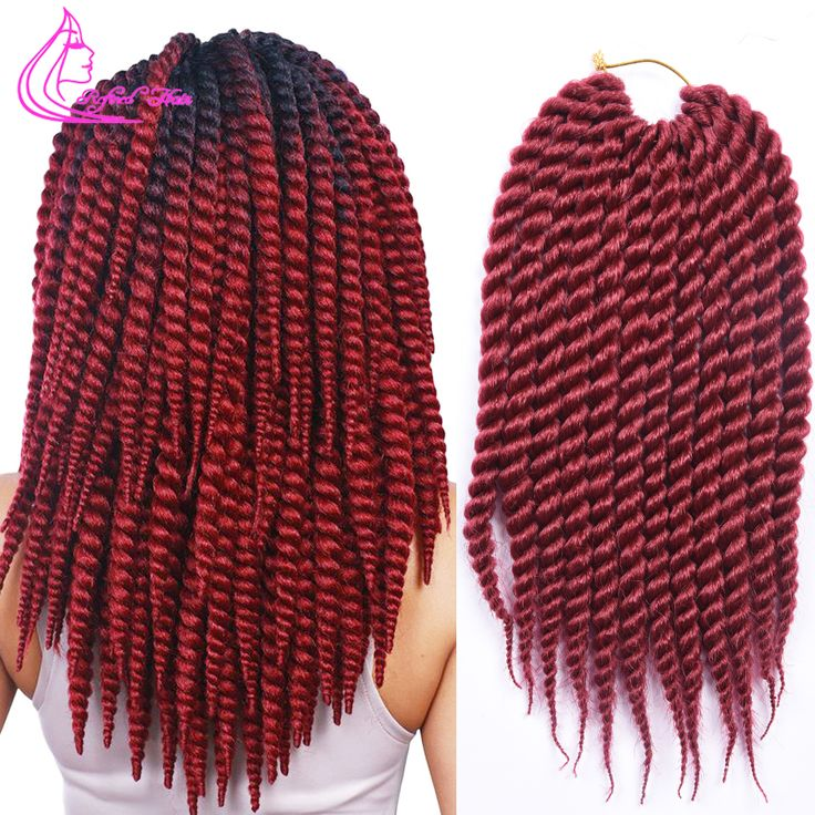 12inch 12roots/pack Havana Mambo Twist Crochet Braid Hair Synthetic Kanekalon Marley Freetress Crochet Braiding Hair extensions