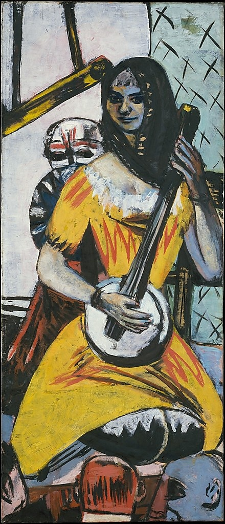 Vaudeville Act  Max Beckmann  (German, Leipzig 18841950 New York City)