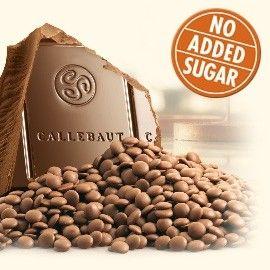 Callebaut, No added sugar milk chocolate by Callebaut