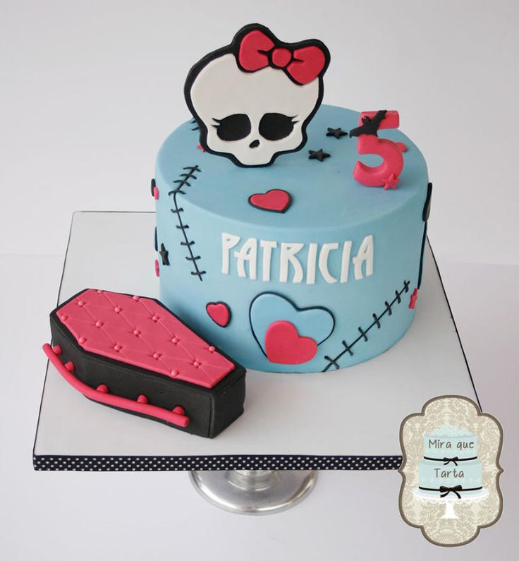 Monster High - Cake by miraquetarta without the cof