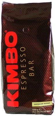 Kimbo Coffee Beans Kimbo Koffiebonen Superior Blend  Kaffee Cafe Caffe Coffee Koffie