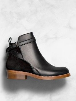 Acne's PERFECT booties - I CAN wear these!!!