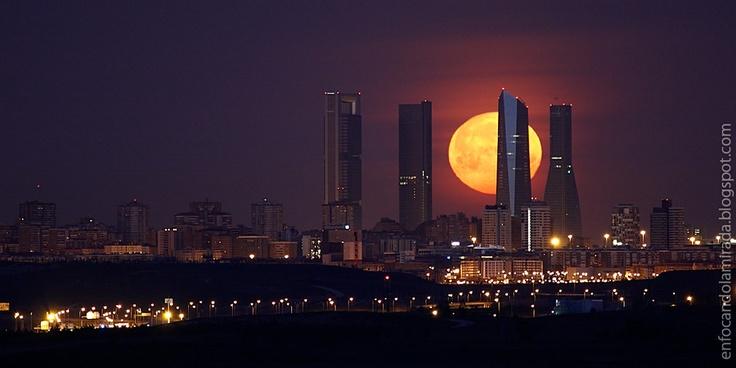 Madrid | Spain | Moon