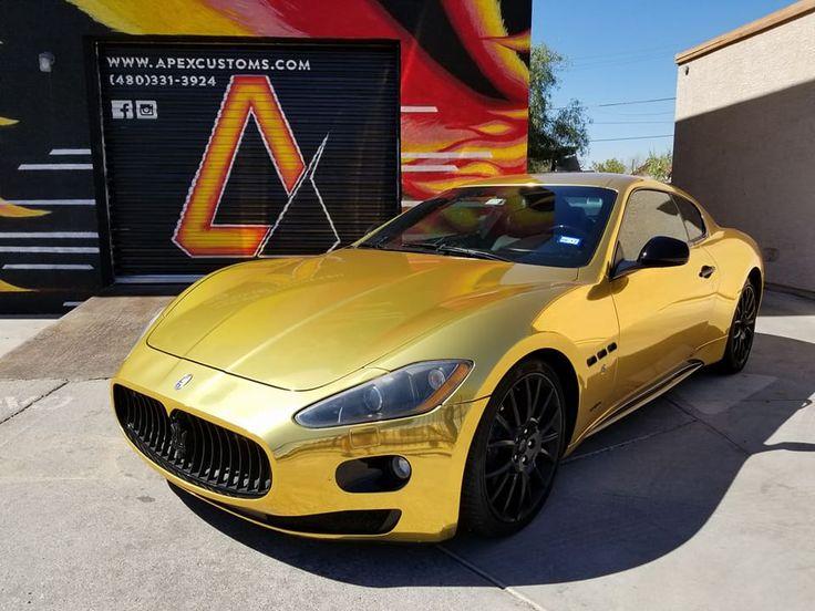 Maserati Gran Turismo S Full Wrap using Avery Dennison