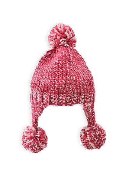 Pumpkin Patch - accessories - girls pompom sherpa - W4AX10069 - wild flower - xs to l