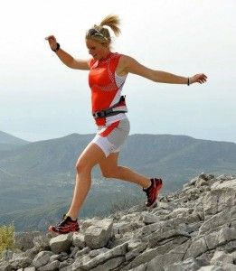 I also fight to drop several pounds (futilely, since they always come back) while training for a road race, which rewards whippet-thin body types, whereas I can do better at trail running with a lot of meat on my bones. Think of 2:25-marathoner Shalane Flanagan versus world-class trail runner Anna Frost: