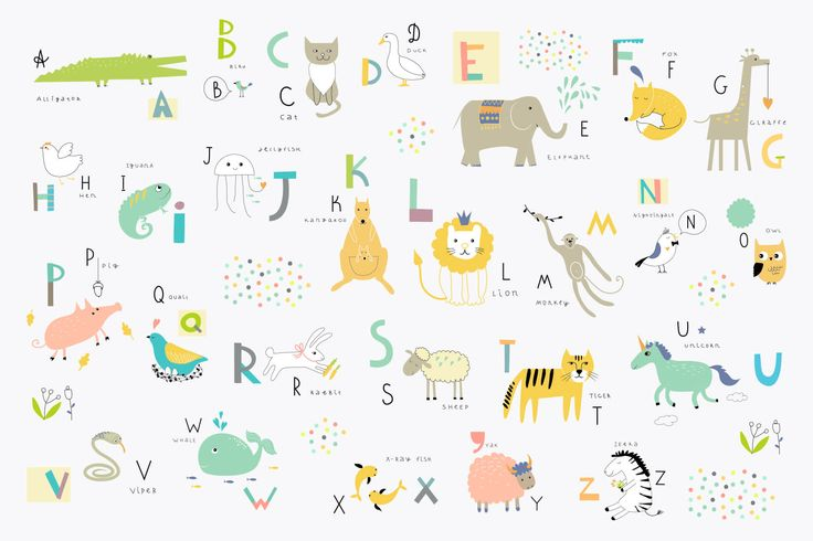 Children's Alphabet Wall Mural, custom made to suit your wall size by the UK's No.1 for wall murals. Custom design service and express delivery available.