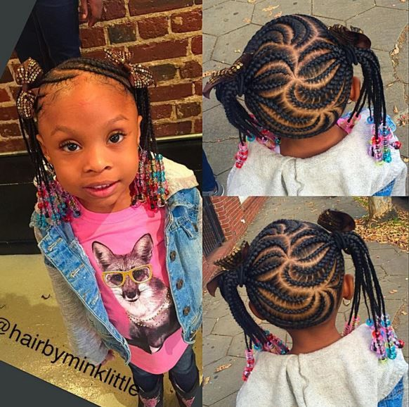 Get Inspired By These 10 Creative 'Braid-up' Styles By Hairbyminklittle On Instagram - Black Hair Information