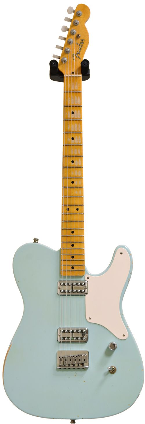 Fender Custom Shop La Cabronita Relic 2 Pickup Sonic Blue
