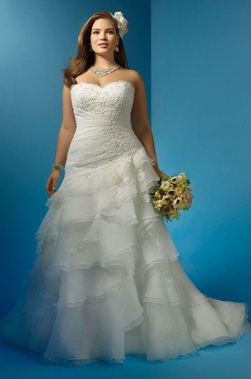 Plus-Size Wedding Gowns, Wedding Dress Shopping Tips, Kleinfeld, Expert Advice    Colin Cowie Weddings