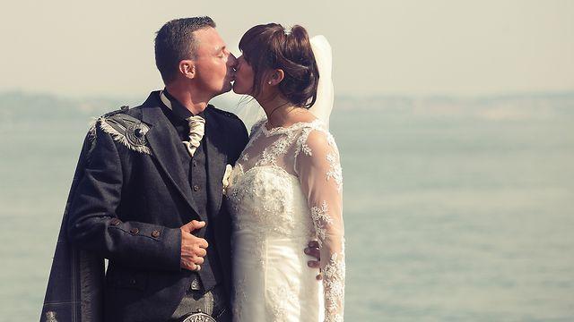 Wonderful ♥♥♥♥ Scottish Wedding at LakeGarda !!!! #italianlakes