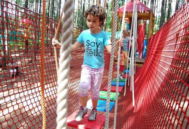Kudy z nudy - Letní dětský a lanový park Bílá