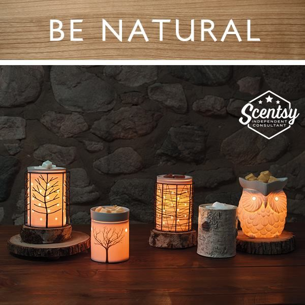 Scentsy 2015 Fall/Winter Be Natural - Available Sept 1 at https://ivelyssepowers.scentsy.us/