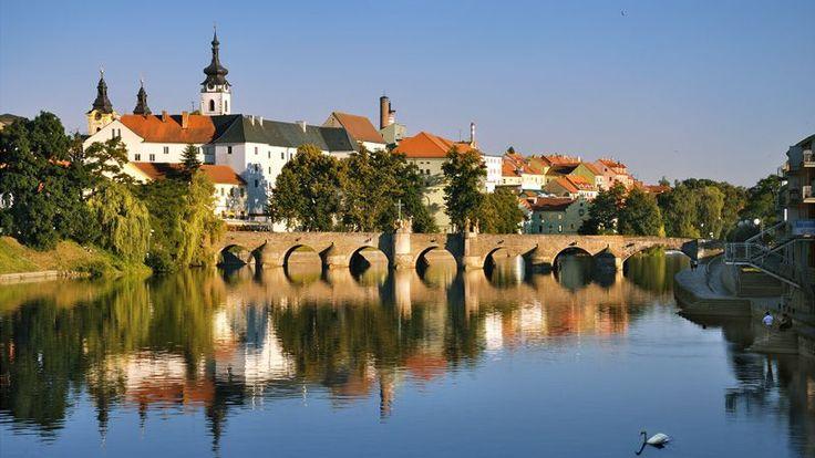 Old town of Pisek  / In Písek, cross the oldest bridge in the Czech lands!