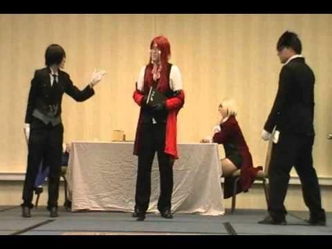 Kuroshitsuji in 5 Minutes--Anime Festival Wichita 2011 skit. Anyone who watches Kuro or Hetalia needs to watch this
