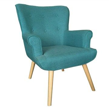 Daley Fabric Armchair - Blue