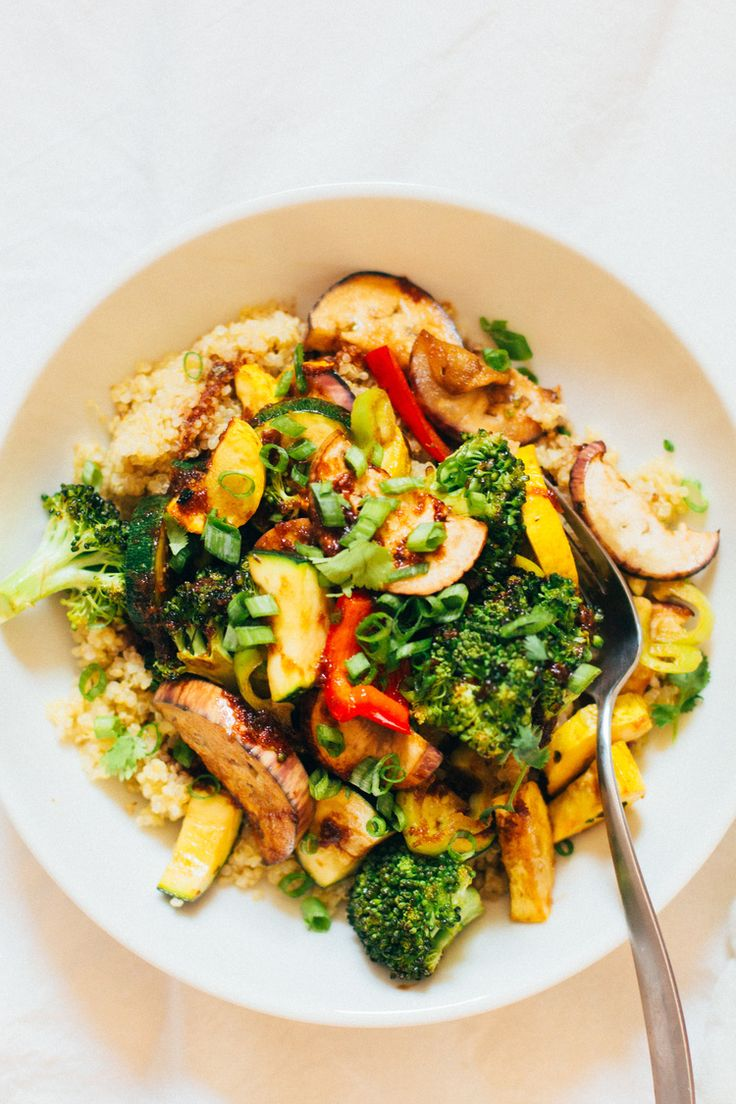 maple miso roasted vegetable + quinoa bowl — sobremesa | dairy free vegetarian recipes best shared