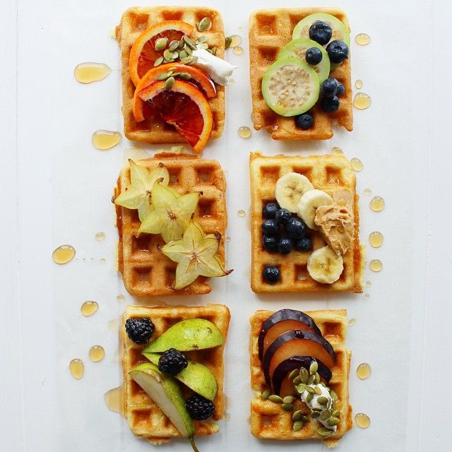 Waffle Bar With Toppings