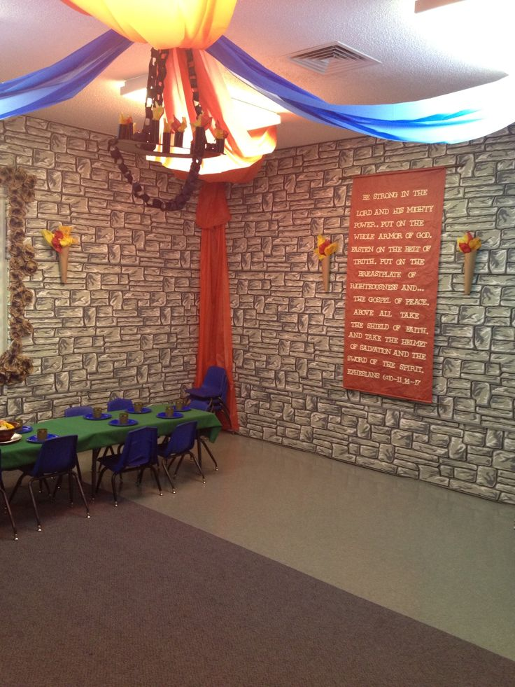 Kingdom Chronicles VBS Mural For Front Platform