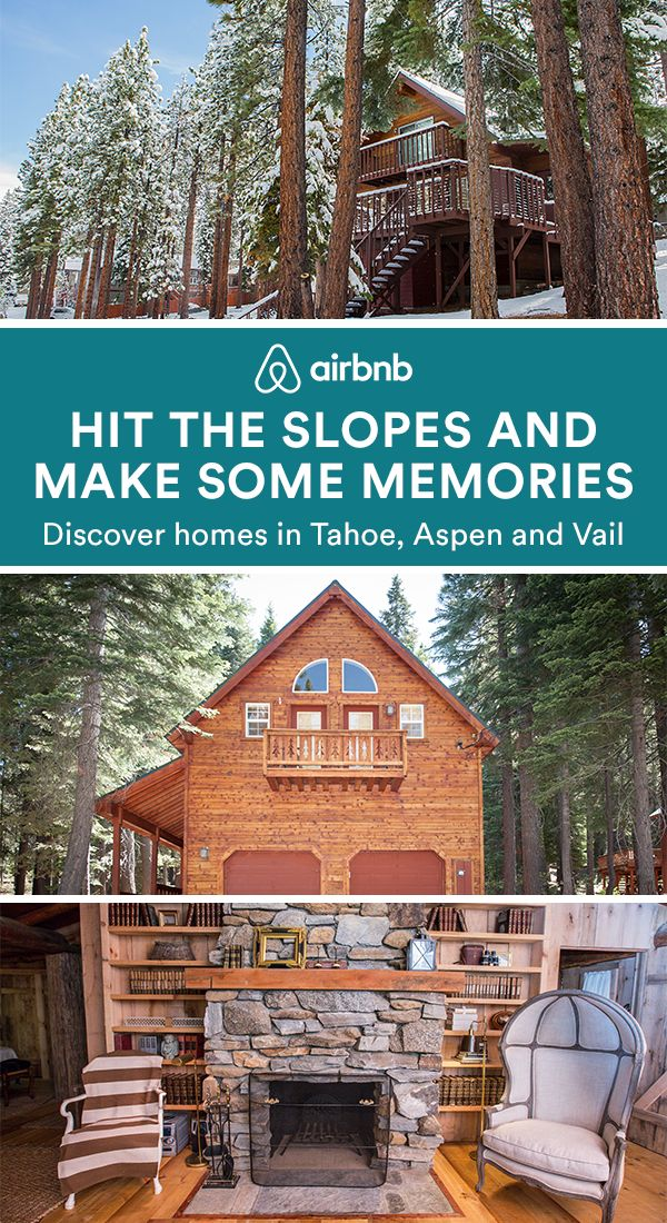 Got a little cabin fever? Find the perfect home for your next ski vacation with Airbnb. Go from skiing on fresh powder to sipping cocoa in your cozy cabin. First time with Airbnb? Book now to save $100 off homes in North America's favorite ski destinations this winter.
