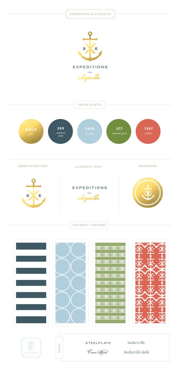 Great website for examples and ideas of branding and graphic design, by Emily McCarthy