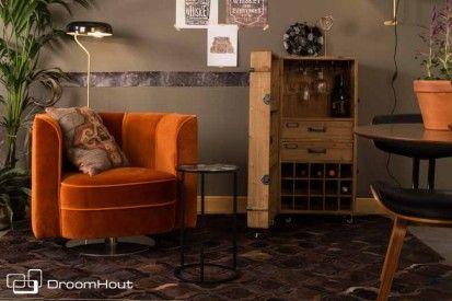 Waan je in 'The roaring twenties' met deze Flower stoel van #Dutchbone #twenties #greatgatsby #peakyblinders