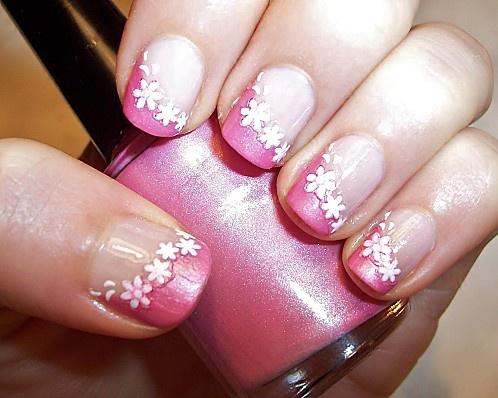 Manucure Valentine's day