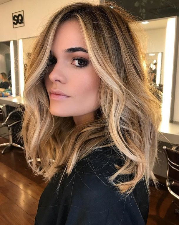 obsessed with these blonde highlights