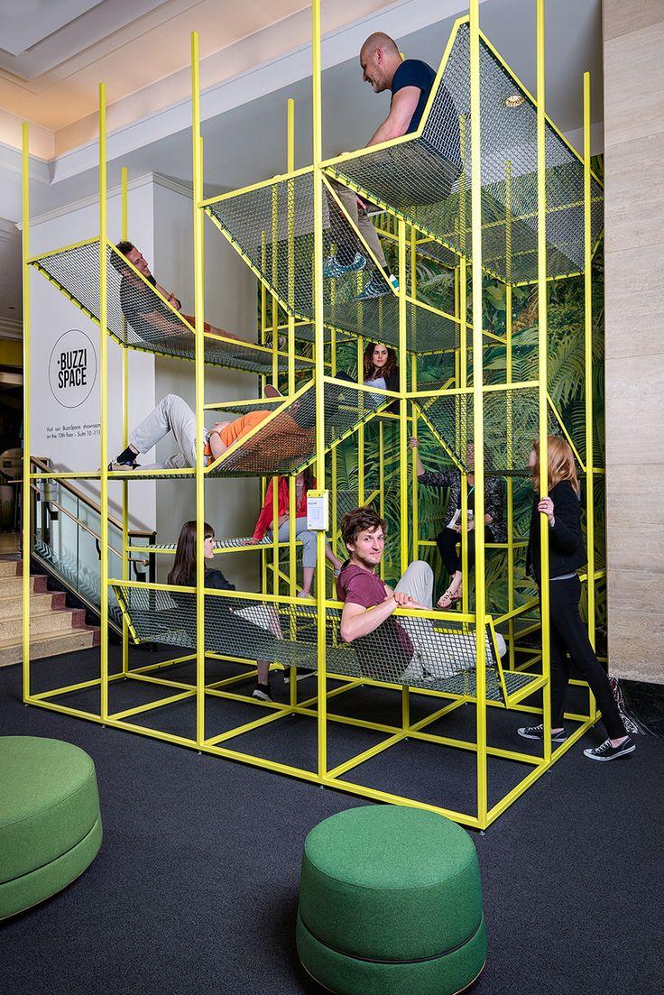 jonas van put buzzijungle for buzzispace biennale interieur kortrijk designboom
