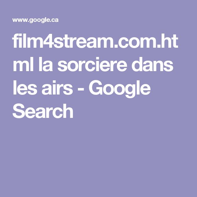 film4stream.com.html la sorciere dans les airs - Google Search