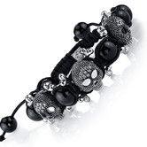 Found it at Wayfair - The Ultimate Cross Bones Shamballa Bracelet