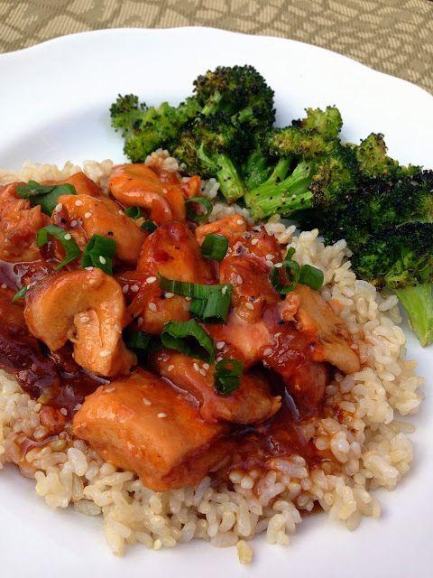 crockpot honey sesame chicken. best slow cooker recipe ever!