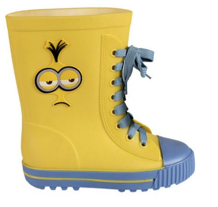 MINION WATER BOOTS SIZE: 12 $35.00 $20.00  or 4 payments of $5.00 with Afterpay