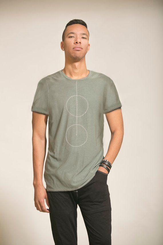 Mens Green Top, Mans shirts, gift for boyfriend, Mens clothing, Man's Top, Handmade shirt, Unique shirt, husband gift, Men fashion clothing