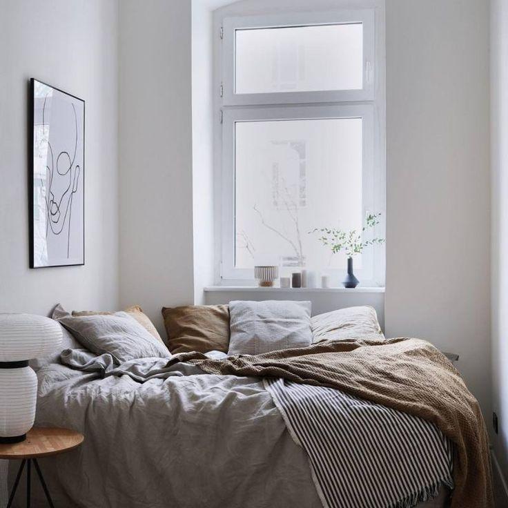 51 Scandinavian Stylish Bedroom Decor Ideas Small Apartment