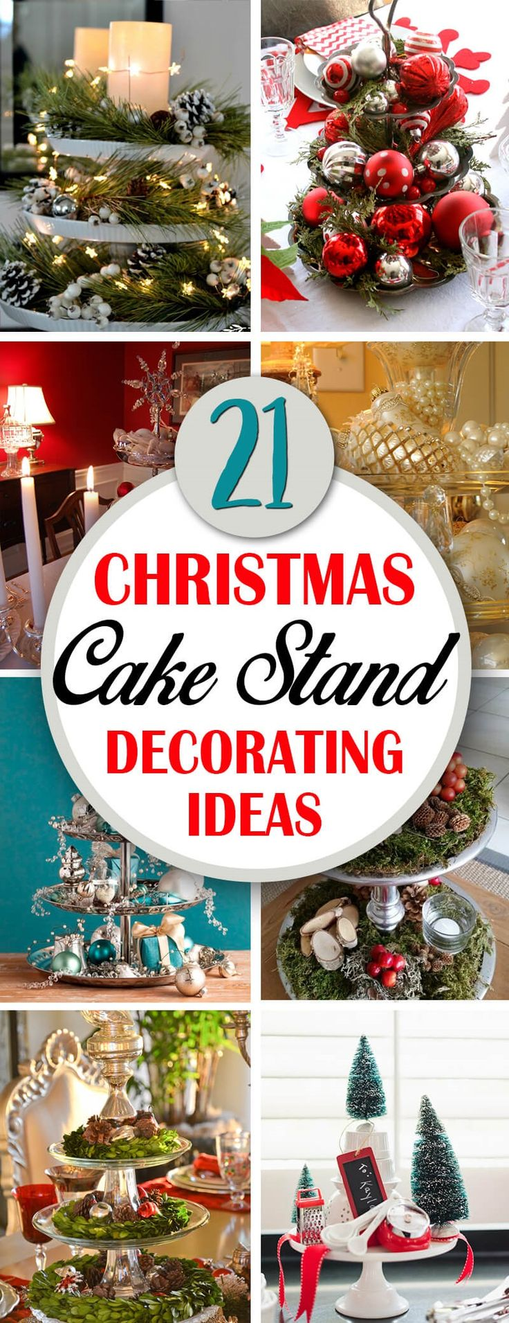 Christmas is coming! Whether those words fill you with delight or dread, it's time to start thinking about decorating. If you're short on time and still want a festive atmosphere, consider creating Christmas cake stand decorations. Take your Holiday Decorating to the Next Level with Christmas Ca...