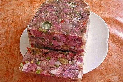 Sülze / Sauerfleisch, ein schönes Rezept aus der Kategorie Snacks und kleine Gerichte. Bewertungen: 31. Durchschnitt: Ø 3,9.