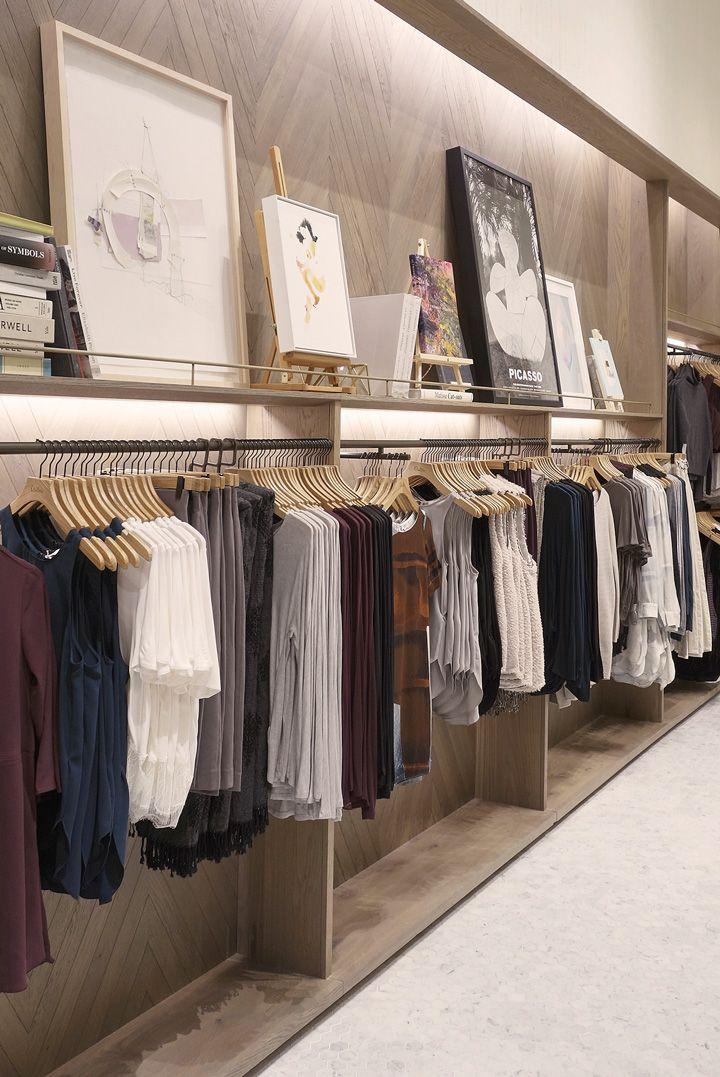Inside Flatiron. Visual merchandising. VM. Retail store display. Clothing.