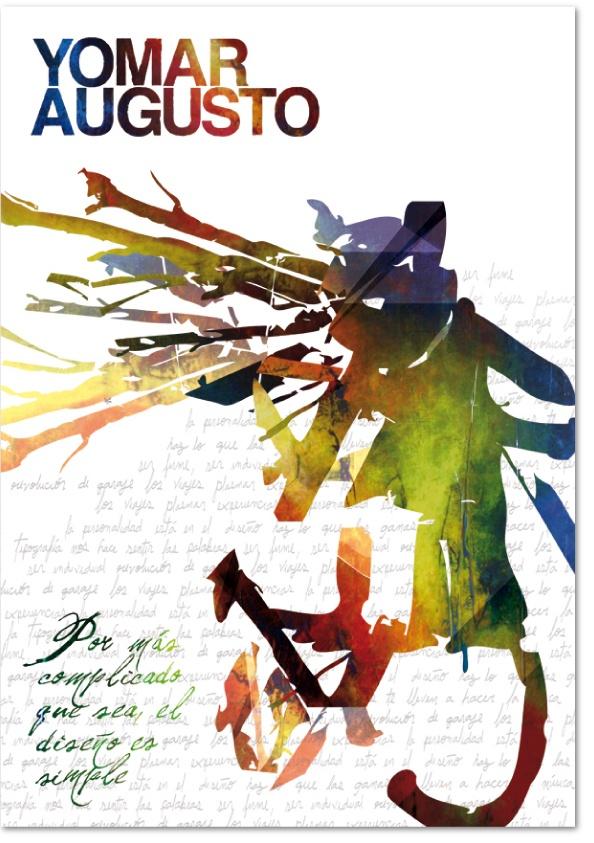 Objeto/Homenaje Yomar Augusto by Laura Hurtado, via Behance