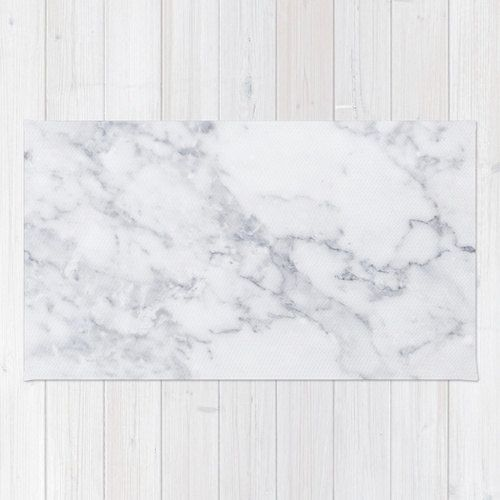 White Marble area rug 2x3 rug modern rug 3x5 rug by HuntleighCo