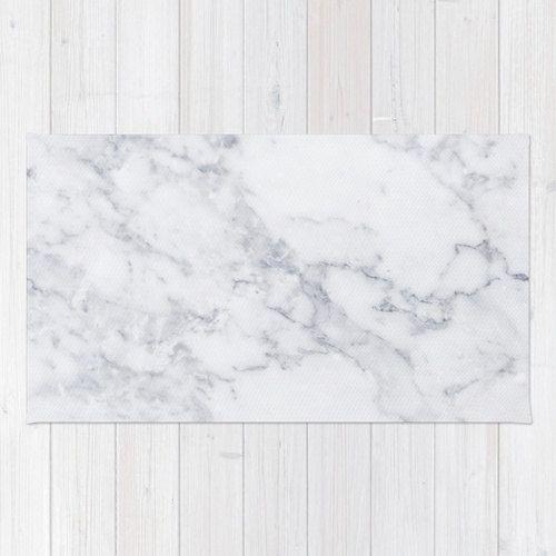 White Marble area rug 2x3 rug modern rug 3x5 rug by HuntleighCo
