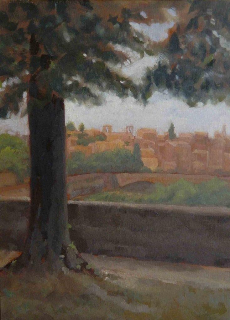 Florence landscape by Marjan Bakhtiarikish
