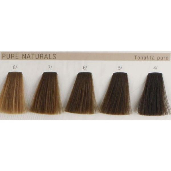 Koleston Perfect Pure Naturals Hair Color Chart