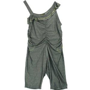 Rocawear Plus Size Ruffled One-Shoulder Sleeveless Jumper (Apparel): Wash Blue, 2X Apparel, Dark Wash, Blue 2X, Jumpers Dark, Jumpers Apparel, One Should Sleeveless, Sleeveless Jumpers, Size Ruffles